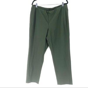 J. Jill Women's Everyday Ponte Knit Slim Leg Pants